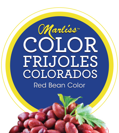 Marliss : Color Frijoles Colorados : Red Bean Color
