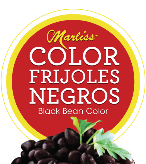 Marliss : Color Frijoles Negros : Black Bean Color